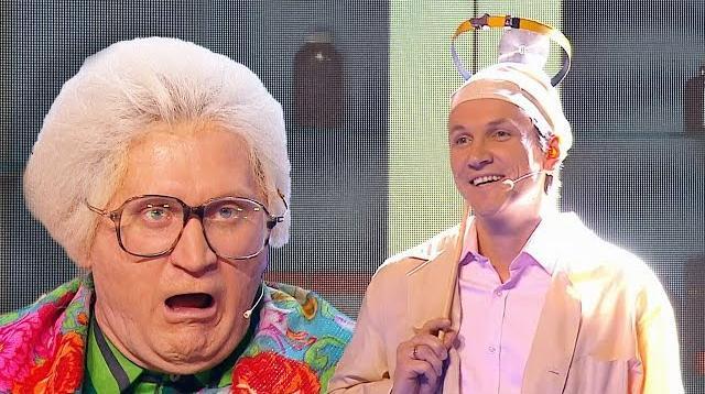 Фото Бабушка и доктор Мясников