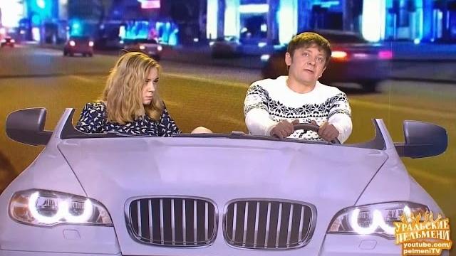 Фото Парочка в машине