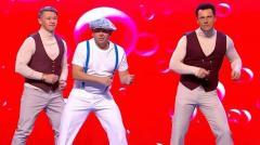 ролик уральских пельменей Танец в животе