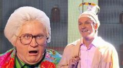 ролик уральских пельменей Бабушка и доктор Мясников