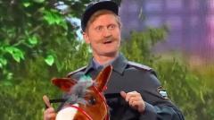ролик уральских пельменей Конная полиция