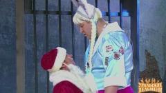 ролик уральских пельменей Деды Морозы