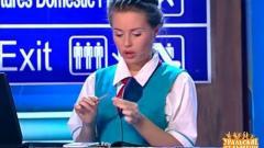 видео уральских пельменей Аэропорт. Стойка регистрации