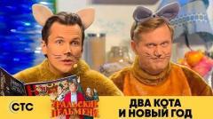 видео уральских пельменей Два кота и новый год