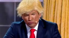 видео уральских пельменей Трамп и Байден